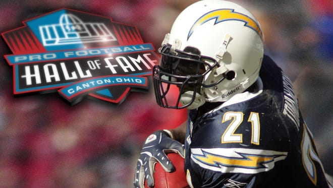 LaDainian Tomlinson headlines the 2017 Pro Football Hall of Fame class.