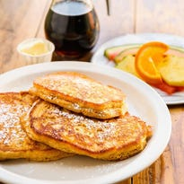 Breakfast at the Iron Hen means pancakes, French toast and other classic breakfast dishes.
