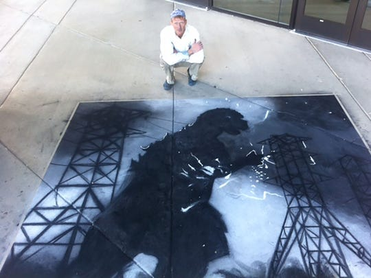 Chalk artist Dana Cohn will be the featured artist in the Tempe Festival of the Arts' Chalk-A-Lot Street area.
