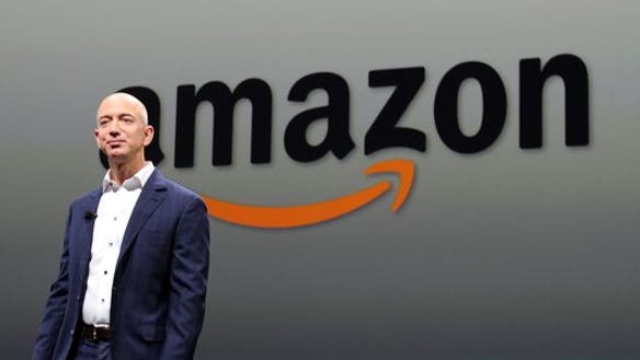 Jeff Bezos, CEO of  Amazon.