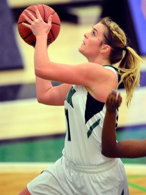 Red Lion High School graduate Morgan Kuehne returns for her junior season after leading York College in scoring as a sophomore with 10.8 points per game.