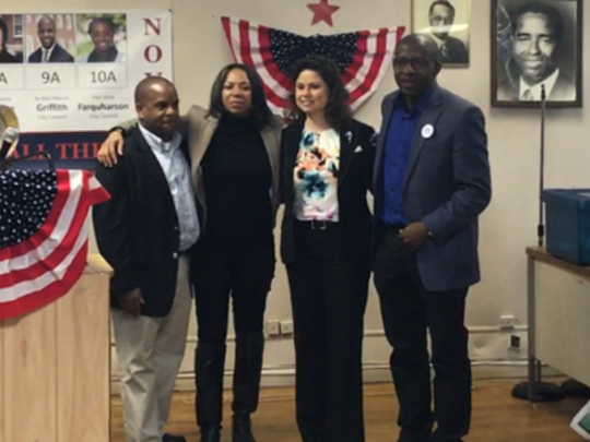 Mount Vernon Democrats celebrate election victories,