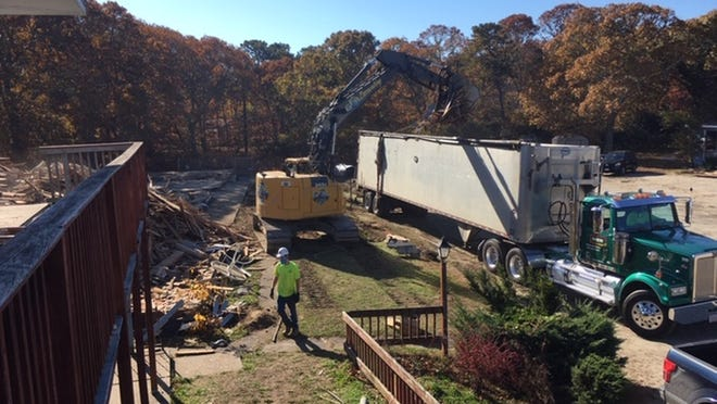 Demolition got underway Monday for The Residences at Yarmouth Gardens, a $15 million affordable housing project with 40 units on 2.1 acres coming in 2022.