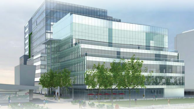 Eli Lilly and Co. will move its device research unit into this Cambridge, Mass., building later in 2015.