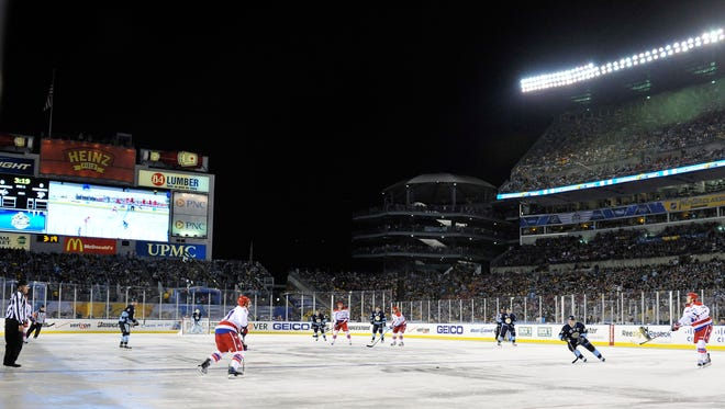The Pittsburgh Penguins hosted the 2011 Winter Classic against the Washington Capitals.
