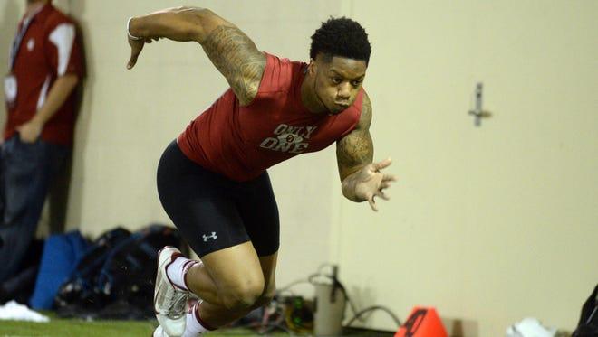 Oklahoma running back Joe Mixon came to Cincinnati to meet with the Bengals.