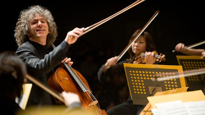 Renowned British cellist Steven Isserlis will perform at 7:30 p.m. April 24 at First Baptist Church, 805 Montana Ave.