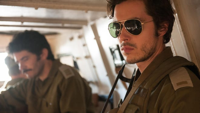 "Ben Schnetzer stars as Zeev Hirsch in ""7 Days In Entebbe."""