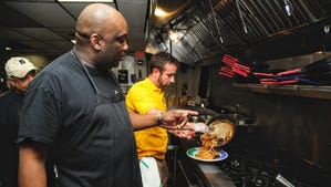 Photos: Cooking with Big Easy on 60 chef Tracy Owes