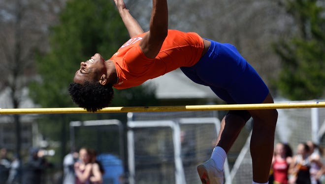 Carlos Pepin of Lodi is a favorite in the boys high jump for 27th annual Lou Lanzalotto Bergen Meet of Champions, which is Friday, May 18.