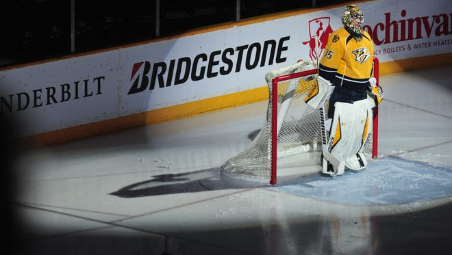 Goalie Pekka Rinne's health is one reason the Predators are back in the playoffs.