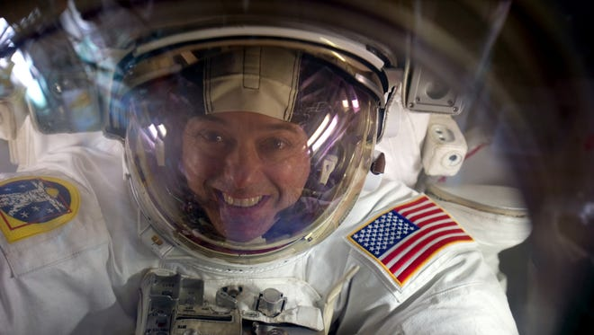 """""""After 71 million miles I'm really excited to come back to my hometown,"""" says Yonkers native and astronaut Ron Garan."""
