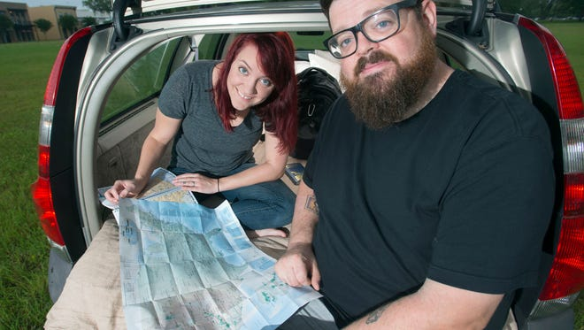 Pensacola couple, Jenn and Ryan Eaton, is planning to spend the next couple of years living out of their Volvo station wagon and visiting all of the Nation's national parks. The newly married couple is selling all of their possessions to help finance the trip.
