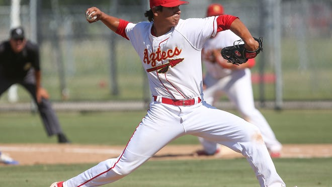 Johnny Cuevas threw a no-hitter on Thursday against Palm Springs. It was the second straight game a Palm Desert pitcher threw a no-no, following Travis Adams' gem on Tuesday.