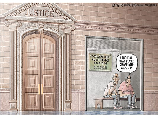 Still waiting for justice in Baltimore, Ferguson...