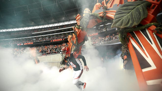 The Cincinnati Bengals could be part of the 2018 International Series as a road team.