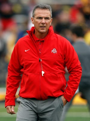 Ohio State coach Urban Meyer