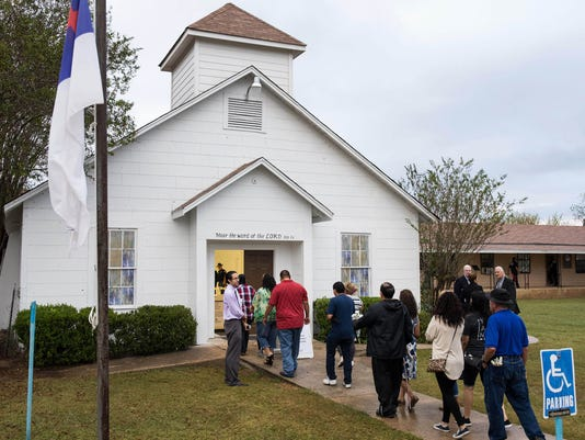 USP NEWS: FIRST BAPTIST CHURCH SHOOTING A USA TX
