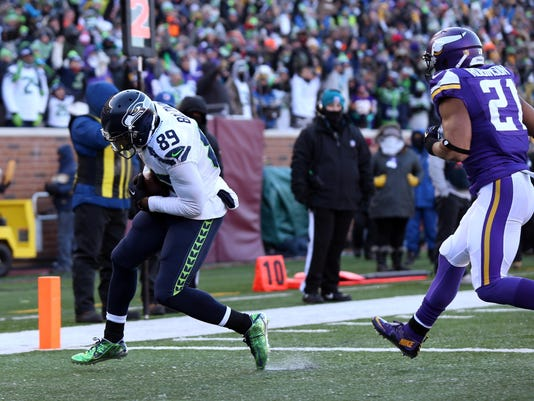 NFL: NFC Wild Card-Seattle Seahawks at Minnesota Vikings