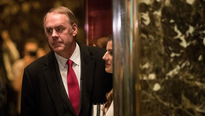 Ryan Zinke For Interior Secretary