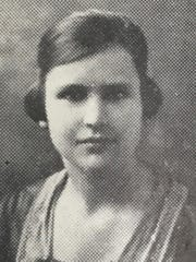 Lessie Amsler, when she was a student at Mississippi Normal College.
