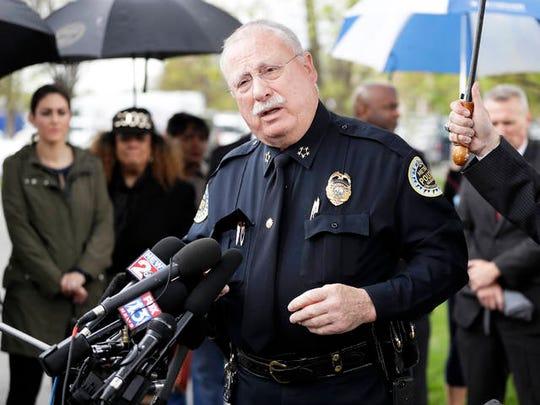 Steve Anderson, Metropolitan Nashville Police Chief.