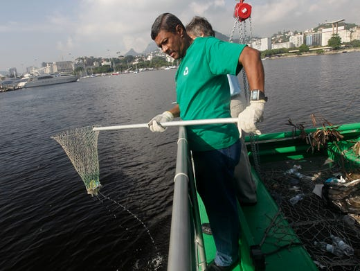 Brazil's Olympic sailing venue called an 'open sewer'
