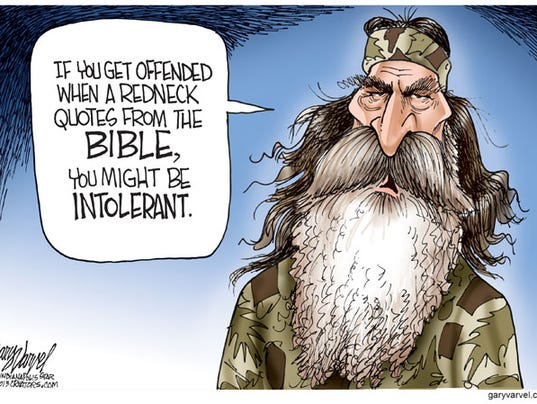 cartoon of the day phil robertson and intolerance   common sense