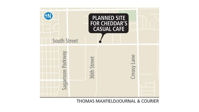 The planned site for Cheddar's Casual Cafe.