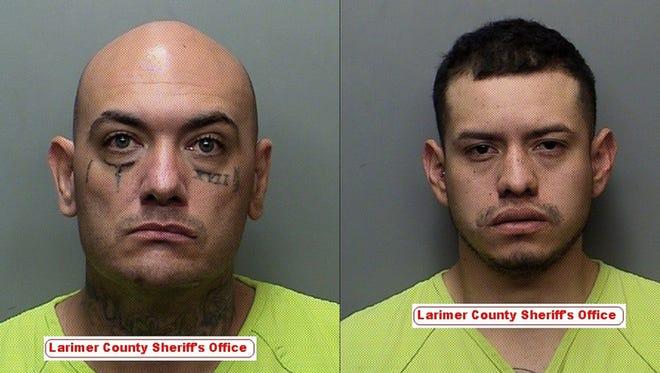 Left: Tomas Vigil, 41. Right: Tolentino Corzo-Avendano, 26