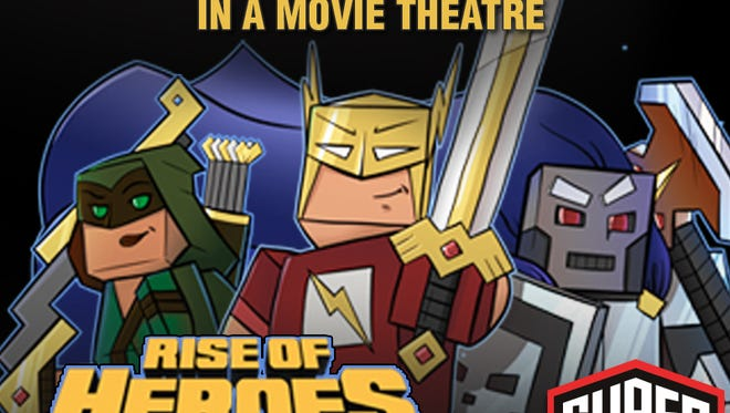 Play Minecraft at the movies beginning April 30.