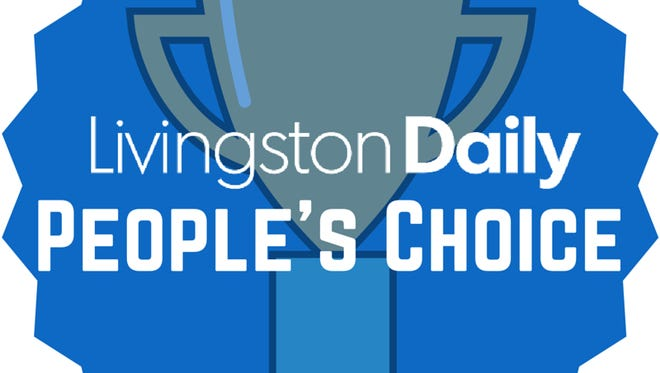 Livingston Daily's People's Choice Awards is an annual poll of favorite businesses and more in Livingston County