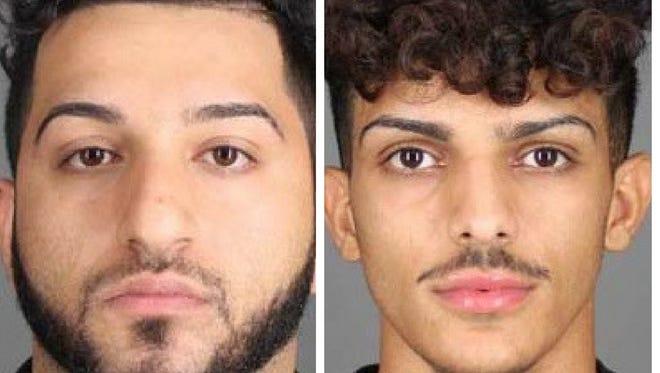 Andy Nano, left, and Mohammed Al-Harbi, both of Phoenix, Arizona.