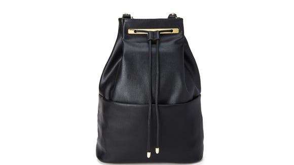 Forever 21 Faux Leather Backpack ($33 at forever21.com).