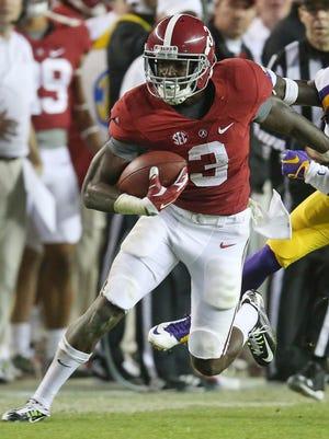Alabama wide receiver Calvin Ridley (3)