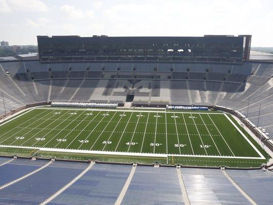 Michigan Stadium Capacity Reduced To 107 601