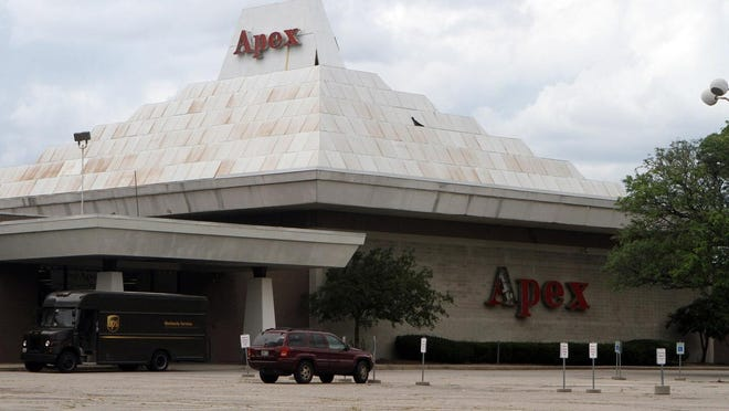 The Apex building.
