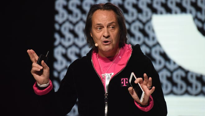 """""""What Sprint has done, what T-Mobile has done to drive competition—we plan on supercharging it,"""" T-Mobile CEO John Legere told USA TODAY."""