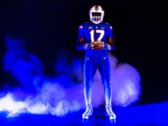 Florida's alternate uniform for its Sept. 2 opener
