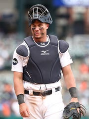 James McCann was considered a plus-catcher defensively