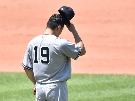 MLB: New York Yankees at Cleveland Indians