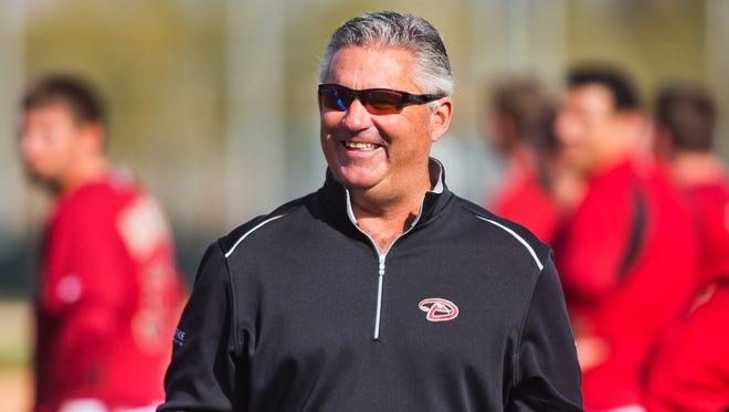 Diamondbacks General Manager Kevin Towers has a new boss, Chief Baseball Officer Tony La Russa.