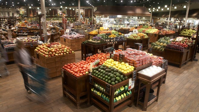 A photo inside a Fresh Market location.