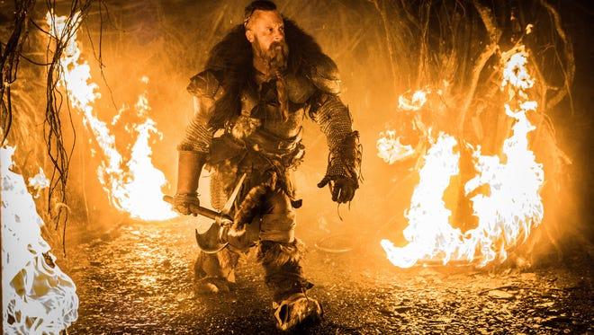 "Vin Diesel stars in ""The Last Witch Hunter."""