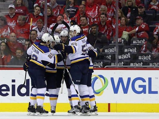 St Louis Blues v Washington Capitals