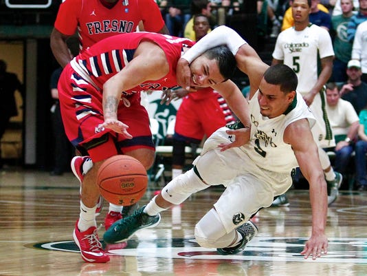 NCAA Basketball: Fresno State at Colorado State