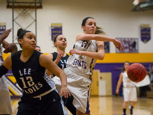 Lee at Waynesboro girls basketball