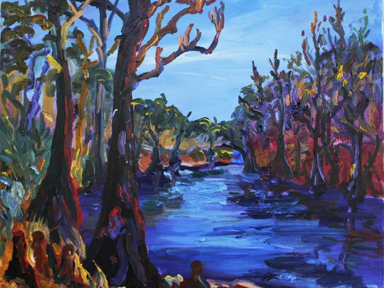 Julie Bowland's Withlacoochee River at Knight's Ferry