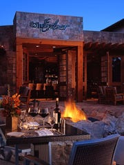 Consider dinner at bluEmber restaurant in Rancho Mirage.