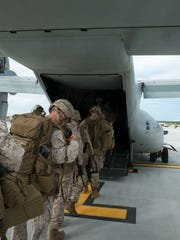 About 5,000 Marines, plus their dependents are set